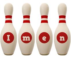 Imen bowling-pin logo