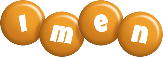 Imen candy-orange logo