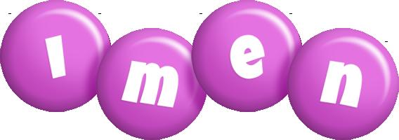 Imen candy-purple logo
