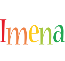 Imena birthday logo