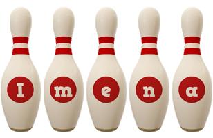 Imena bowling-pin logo