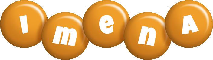 Imena candy-orange logo