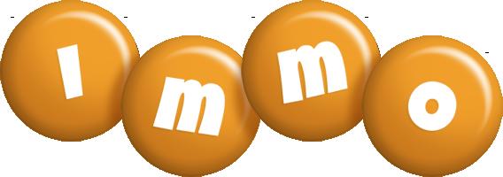 Immo candy-orange logo