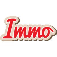 Immo chocolate logo