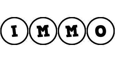 Immo handy logo