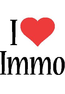 Immo i-love logo