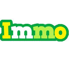 Immo soccer logo