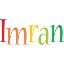 Imran birthday logo