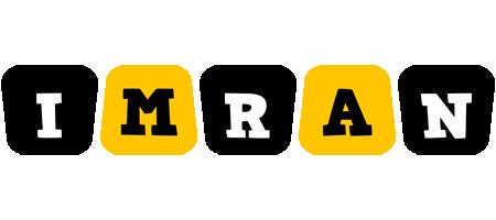 Imran boots logo