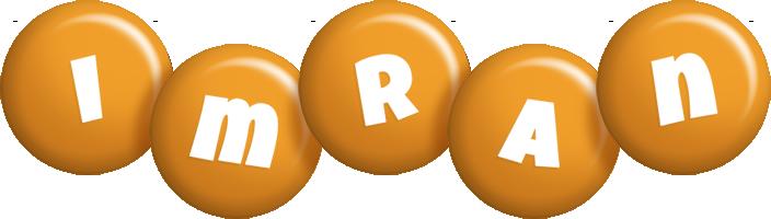 Imran candy-orange logo
