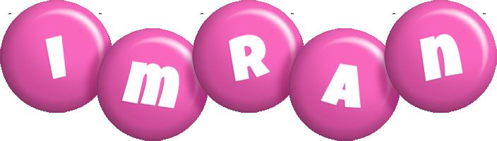 Imran candy-pink logo