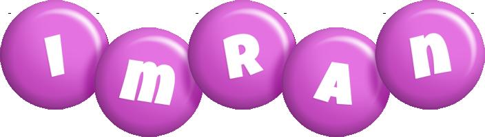 Imran candy-purple logo