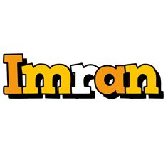 Imran cartoon logo
