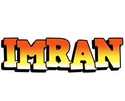 Imran sunset logo
