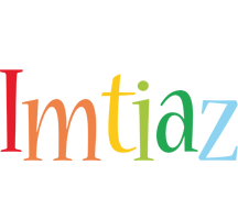 Imtiaz birthday logo