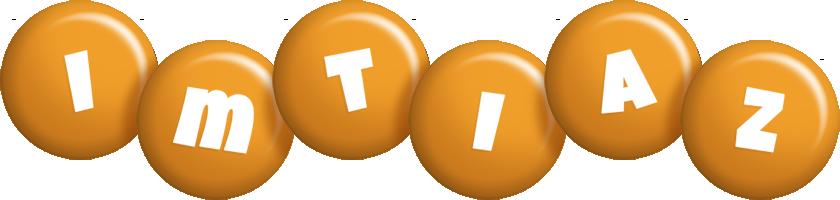 Imtiaz candy-orange logo