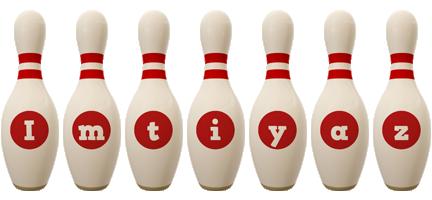 Imtiyaz bowling-pin logo