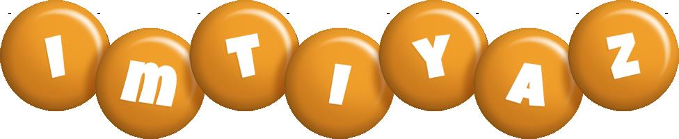 Imtiyaz candy-orange logo