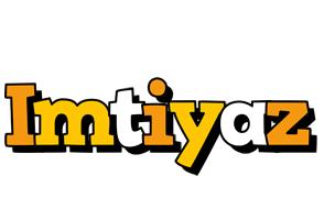 Imtiyaz cartoon logo