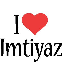 Imtiyaz i-love logo