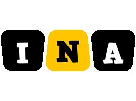 Ina boots logo