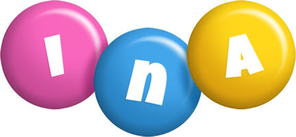 Ina candy logo