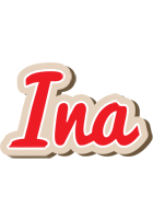 Ina chocolate logo