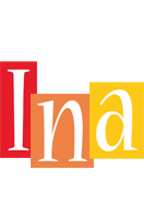 Ina colors logo