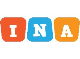 Ina comics logo