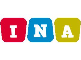 Ina daycare logo