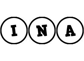 Ina handy logo