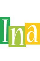 Ina lemonade logo