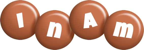 Inam candy-brown logo