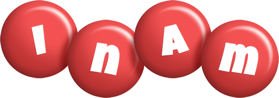 Inam candy-red logo