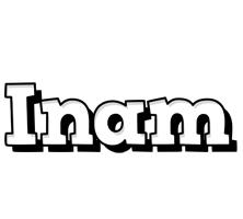 Inam snowing logo