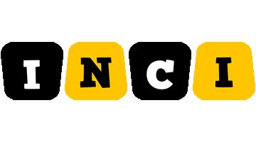 Inci boots logo