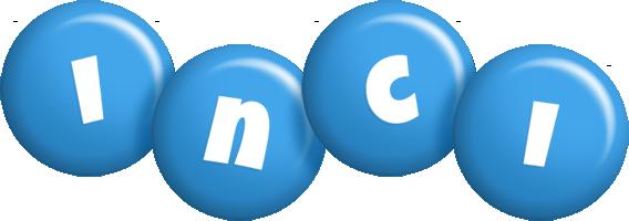 Inci candy-blue logo