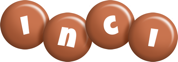 Inci candy-brown logo
