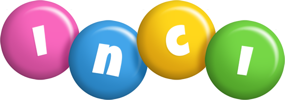 Inci candy logo