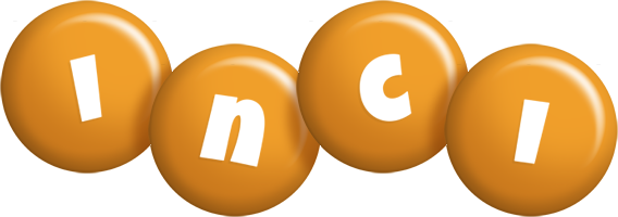 Inci candy-orange logo