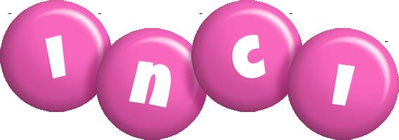 Inci candy-pink logo