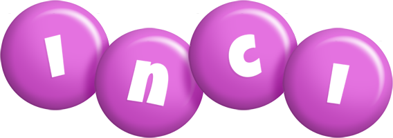 Inci candy-purple logo