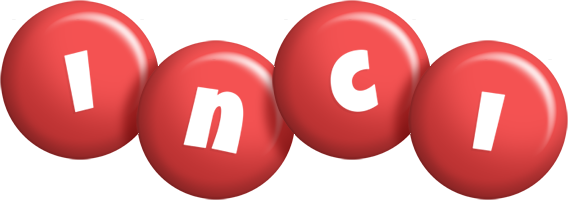 Inci candy-red logo