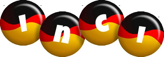 Inci german logo