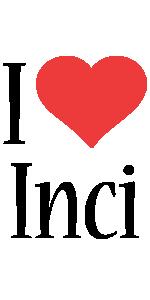 Inci i-love logo