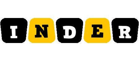 Inder boots logo