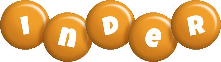 Inder candy-orange logo