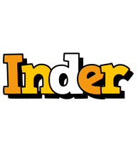 Inder cartoon logo