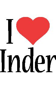 Inder i-love logo