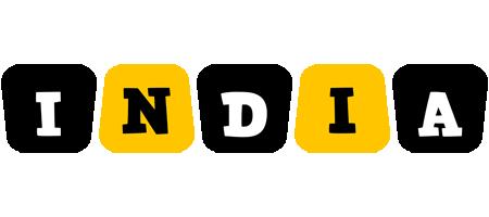 India boots logo